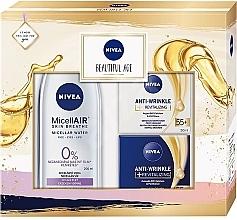 Düfte, Parfümerie und Kosmetik Gesichtspflegeset - Nivea Beautiful Age (Tagescreme 50ml + Nachtcreme 50ml + Mizellenwasser 200ml)