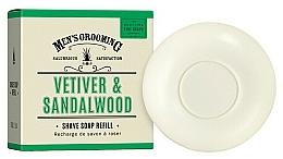 Düfte, Parfümerie und Kosmetik Rasierseife mit Vetiver und Sandelholz - Scottish Fine Soaps Vetiver & Sandalwood Shaving Soap (Refill)