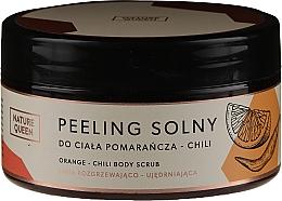 Düfte, Parfümerie und Kosmetik Salz-Körperpeeling mit Orange und Chili - Nature Queen Body Scrub