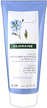 Düfte, Parfümerie und Kosmetik Haarspülung - Klorane Volume Conditioner With Flax Fiber