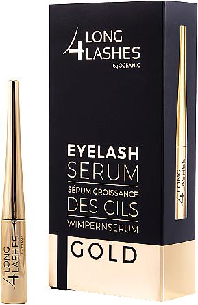 Stimulierendes Serum zum Wimpernwachstum - Long4lashes EyeLash Gold Serum