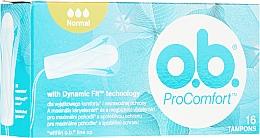 Düfte, Parfümerie und Kosmetik Tampons Normal 16 St. - o.b. ProComfort Normal Tampons