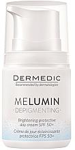 Düfte, Parfümerie und Kosmetik Tagescreme gegen Pigmentflecken SPF 50+ - Dermedic MeLumin Depigmenting Cream SPF 50+