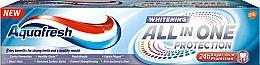 Düfte, Parfümerie und Kosmetik Aufhellende und schützende Zahnpasta  All In One Protection Whitening - Aquafresh All-in-One Whitening