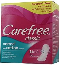 Düfte, Parfümerie und Kosmetik Slipeinlagen 56 St. - Carefree Classic Normal With Cotton Extract