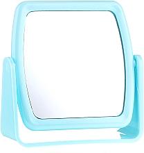 Düfte, Parfümerie und Kosmetik Kosmetikspiegel mit Ständer 85727 quadratisch blau - Top Choice Beauty Collection Mirror
