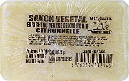 Düfte, Parfümerie und Kosmetik Handgemachte Naturseife mit Zitronengrasduft und Sheabutter - Foufour Savonnette Marseillaise Citronnelle