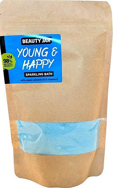 Badepulver mit Süßmandelöl und Vitamin E - Beauty Jar Young and Happy Sparkling Bath