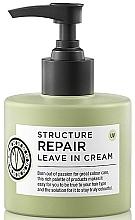 Düfte, Parfümerie und Kosmetik Pflegender Hitzeschutz für geschädigtes, chemisch behandeltes Haar - Maria Nila Structure Repair Leave In Cream