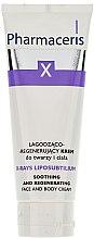 Düfte, Parfümerie und Kosmetik Beruhigende und regenerierende Gesichts- und Körpercreme - Pharmaceris X XRay-Liposubtilium Sooting and Regenerating Cream For Face and Body