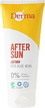 Düfte, Parfümerie und Kosmetik After Sun Körperlotion mit Aloe Vera - Derma After Sun Lotion Med Aloe Vera