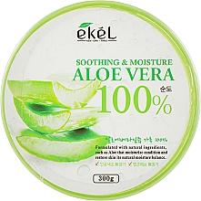 Düfte, Parfümerie und Kosmetik Beruhigendes und feuchtigkeitsspendendes Gesichts- und Körpergel mit 100% Aloe Vera - Ekel AloeVera 100% Soothing Gel