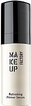 Düfte, Parfümerie und Kosmetik Gesichtsprimer mit Macadamia-Öl und Goji-Extrakt - Make Up Factory Refreshing Primer Serum