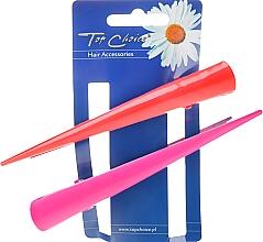 Düfte, Parfümerie und Kosmetik Haarspangen 25136 rosa, rot 2 St. - Top Choice