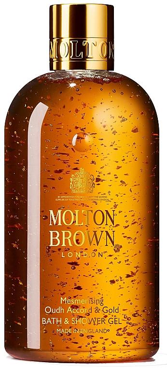 Faszinierendes Bade- und Duschgel Oudh Accord & Gold - Molton Brown Mesmerising Oudh Accord & Gold