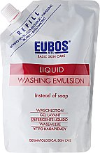 Düfte, Parfümerie und Kosmetik Waschlotion - Eubos Med Basic Skin Care Liquid Washing Emulsion Red (Doypack)