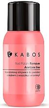 Düfte, Parfümerie und Kosmetik Acetonfreier Nagellackentferner mit Nachtkerzenöl und Vitamin F - Kabos Nail Polish Remover