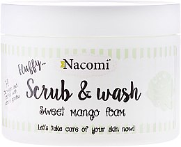 Düfte, Parfümerie und Kosmetik Peeling-Schaum mit Mango - Nacomi Scrub and Wash Sweet Mango Foam