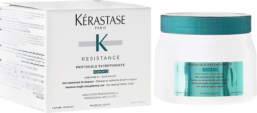 Regenerierende Intensivkur für geschädigtes und geschwächtes Haar - Kerastase Resistance Protocole Extentioniste Soin Nº2