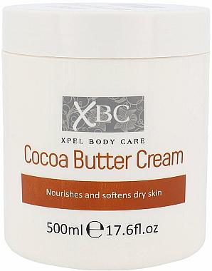 Pflegende und aufweichne Körpercreme mit Kakaobutter - Xpel Marketing Ltd Body Care Cocoa Butter Cream