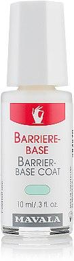 Barriere-Base für trockene, dünne und empfindliche Nägel - Mavala Barrier-Base Coat — Bild N1