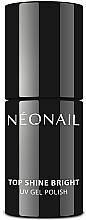 Düfte, Parfümerie und Kosmetik Stark glänzender UV Gel Nagelüberlack - NeoNail Professional Top Shine Bright UV Gel Polish
