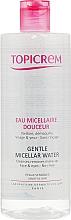 Düfte, Parfümerie und Kosmetik Sanftes Mizellen-Reinigungswasser zum Abschminken - Topicrem Gentle Micellar Water Face & Eyes