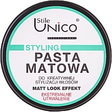 Düfte, Parfümerie und Kosmetik Modellierende Haarpasta mit Matt-Effekt - Tenex Stile Unico Pasta