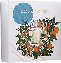Düfte, Parfümerie und Kosmetik Chloe Love Story - Duftset (Eau de Parfum 50ml + Körperlotion 100ml)