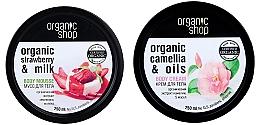 Düfte, Parfümerie und Kosmetik Körperpflegeset - Organic Shop (Körpermousse 250ml + Körpercreme 250ml)