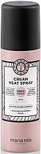 Düfte, Parfümerie und Kosmetik Pflegendes Hitzeschutzspray cremiger Konsistenz - Maria Nila Style & Finish Cream Heat Spray