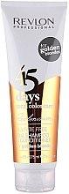 Düfte, Parfümerie und Kosmetik 2in1 Shampoo und Conditioner für warme Blondtöne - Revlon Professional Revlonissimo 45 Days Golden Blondes 2in1
