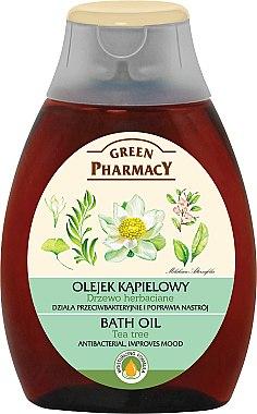 Badeöl mit Extrakt aus Teebaum - Green Pharmacy Tea Tree Bath Oil