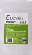 Düfte, Parfümerie und Kosmetik Straffende Gesichtsmaske mit Grüntee - Lynia Lift & Revitalizing Peel-off Powder Mask