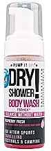 Düfte, Parfümerie und Kosmetik Trocken-Waschschaum für Hände und Körper mit Himbeere - Pump It Up Dry Shower Body Wash Raspberry