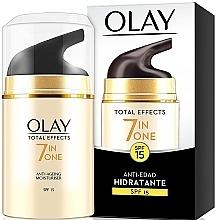 Düfte, Parfümerie und Kosmetik 7in1 Feuchtigkeitsspendende Anti-Aging Tagescreme SPF 15 - Olay Total Effects Anti-Edad Hidratante SPF15