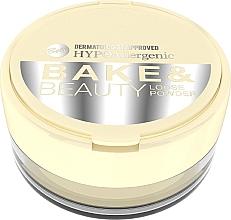 Düfte, Parfümerie und Kosmetik Loser Gesichtspuder - Bell HypoAllergenic Bake & Beauty Loose Powder