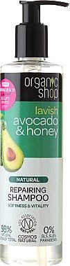Reparierendes Shampoo mit Avocado & Honig - Organic Shop Avocado & Honey Repairing Shampoo
