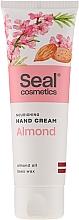 Düfte, Parfümerie und Kosmetik Pflegende Handcreme mit Mandel - Seal Cosmetics Almond Hand Cream