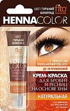 Düfte, Parfümerie und Kosmetik Henna für Augenbrauen und Wimpern - Fito Kosmetik Henna Color