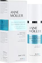 Düfte, Parfümerie und Kosmetik Feuchtigkeitsspendende und schützende Gesichtscreme - Anne Moller Blockage 24h Moisturizing Defender Cream