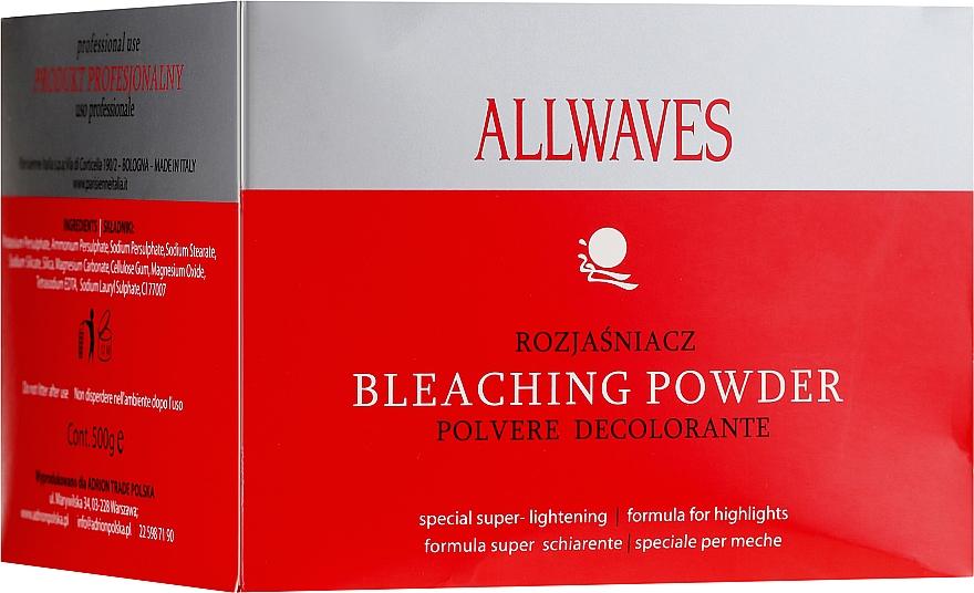 Aufhellpulver für Haare - Allwaves Bleaching Powder