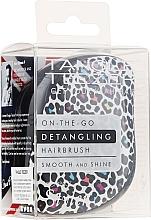 Düfte, Parfümerie und Kosmetik Kompakte Haarbürste Leopard - Tangle Teezer Compact Styler Punk Leopard