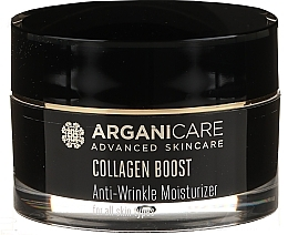 Düfte, Parfümerie und Kosmetik Feuchtigkeitsspendende Anti-Falten Gesichtscreme mit Kollagen und Arganöl - Arganicare Collagen Boost Advanced Anti-Wrinkle Moisturizer