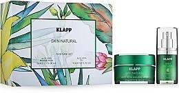 Düfte, Parfümerie und Kosmetik Gesichtspflegeset - Klapp Skin Natural Face Care Set (Gesichtsmaske 50ml + Gesichtsgel 15ml)