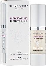 Düfte, Parfümerie und Kosmetik Regenerierendes und glättendes Gesichtsserum - DermoFuture Ultra Soothing Protect & Repair Serum
