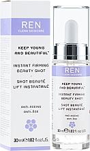 Düfte, Parfümerie und Kosmetik Straffendes Anti-Aging Gesichtsserum - Ren Keep Young and Beautiful Instant Firming Beauty Shot
