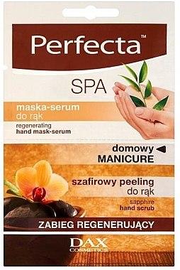 Regenerierende Handpeeling-Maske - Perfecta Spa Hand Peeling