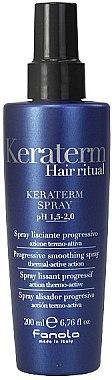 Hitzeschutzspray mit Keratin für geschädigtes Haar - Fanola Keraterm Spray