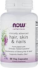 Düfte, Parfümerie und Kosmetik Nahrungsergänzungsmittel für gesunde Nägel, Haar und Haut - Now Foods Solutions Hair, Skin & Nails